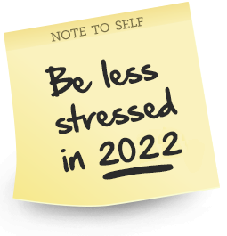 Feel Less Stressed 2014